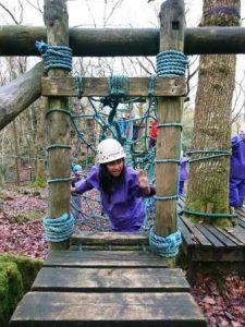 Calverton school - obstacle course