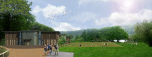 South Camp - artist's impression back view