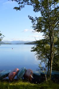 View over the Canoes